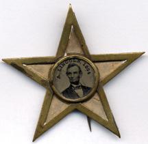 1864 Campaign Button