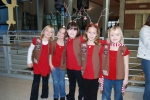 Brownies Made Their Own Antlers for the Sing