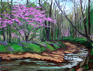 Charlene Marsh, Painting, Brown County
