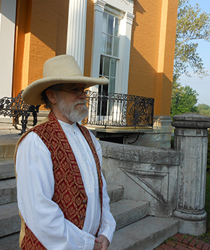 Tour guide Bill Lackner is waiting to take you on a behind-the-scenes adventure at Lanier Mansion!