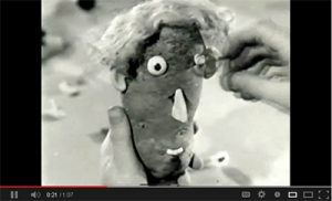 Check out this Mr. Potato Head commercial from the 1960s!